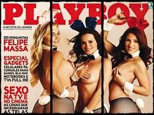 Coelhinhas Nuas Na Playboy