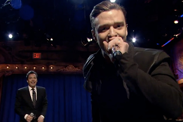 Jimmy Fallon & Justin Timberlake fazem cover de clássicos do rap