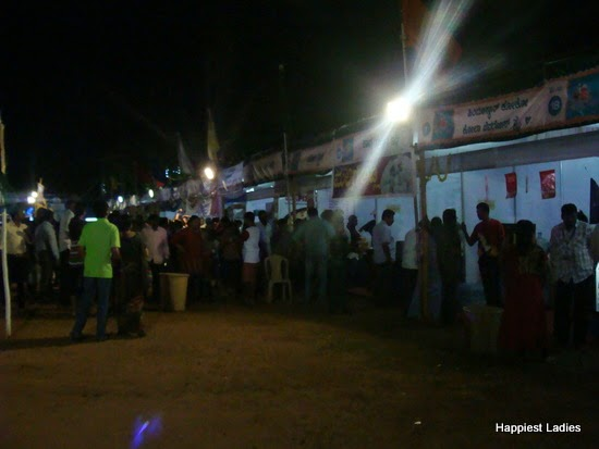 food stalls at ahara mela 2014 mysore