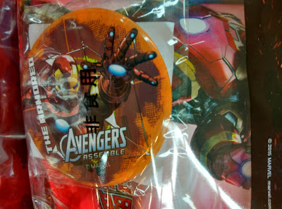 Marvel: On-Pack Badge Promotional Gift