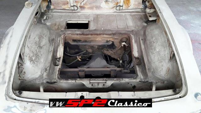 Iniciando a restauração de um VW SP2_02