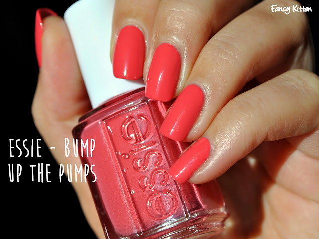 Essie Pump up the Pumps Swatch Winter 2014  Jiggle Hi, Jiggle Lo