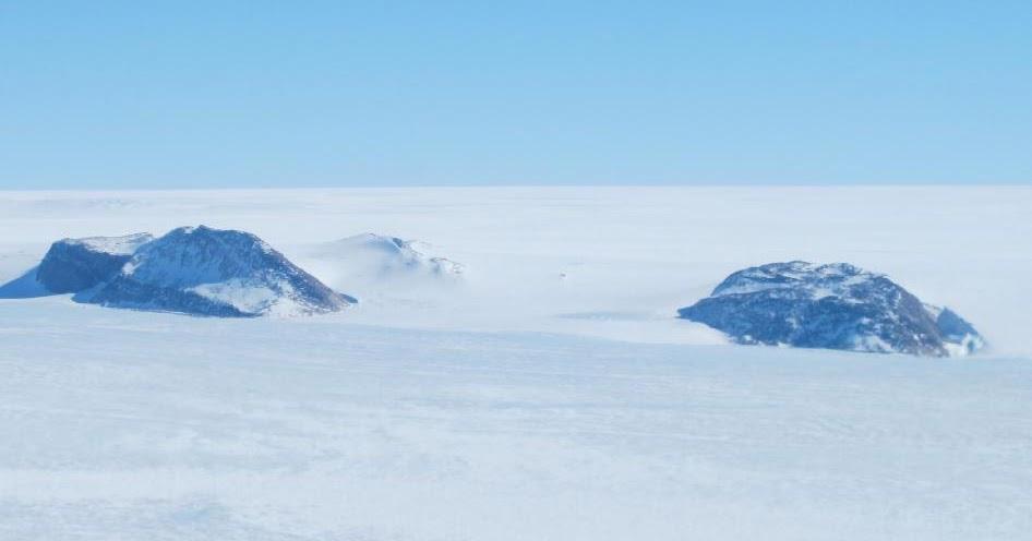 A volo d'uccello sui ghiacci - il video del lunedì.