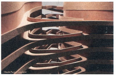 Architectures de cartes postales 2 presque claude parent moscou - Claude parent architecte ...