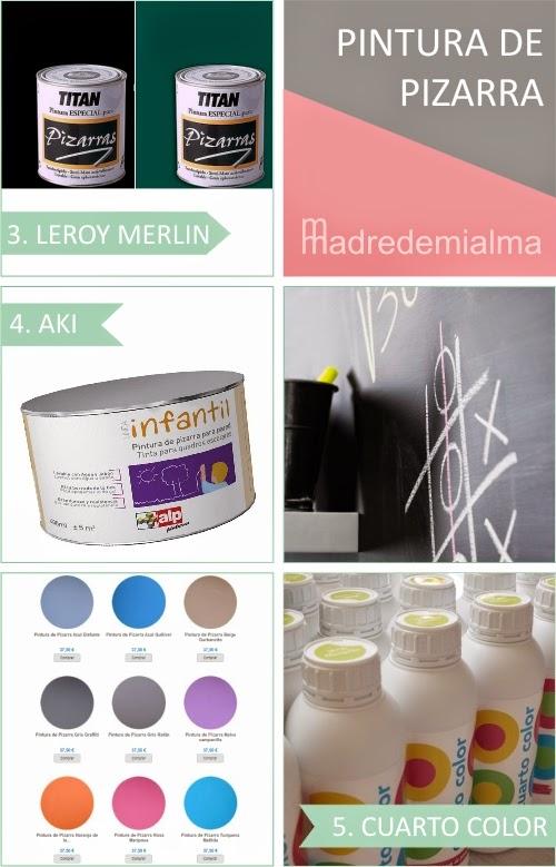 Emejing Cuarto Color Pintura Pizarra Photos - Casas: Ideas, imágenes ...