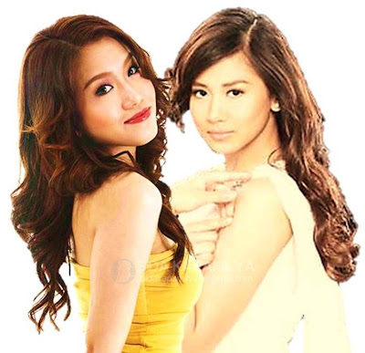 Rachelle Ann Go and Sarah Geronimo