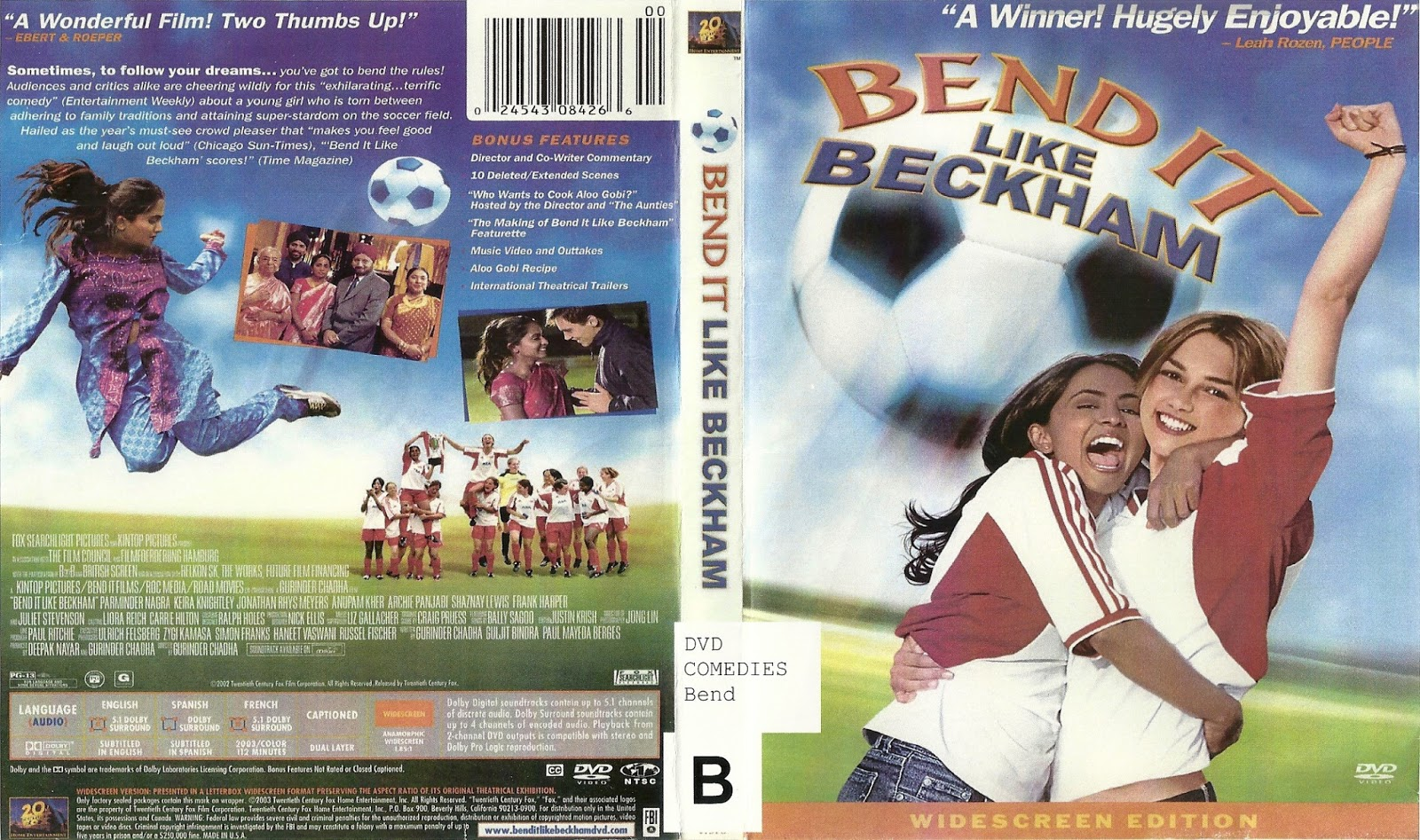 bend it like beckham mise en scene How is bend it like beckham intercultural bend it like beckham is an chadha emphasises these differences through the film's mise-en-scene.