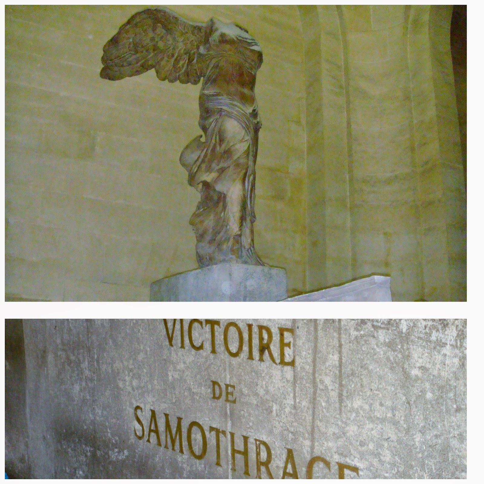 Victory of Samothrace Louvre Paris