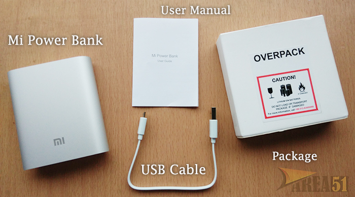 xiaomi mi power bank 10400 mah review and unboxing the area51