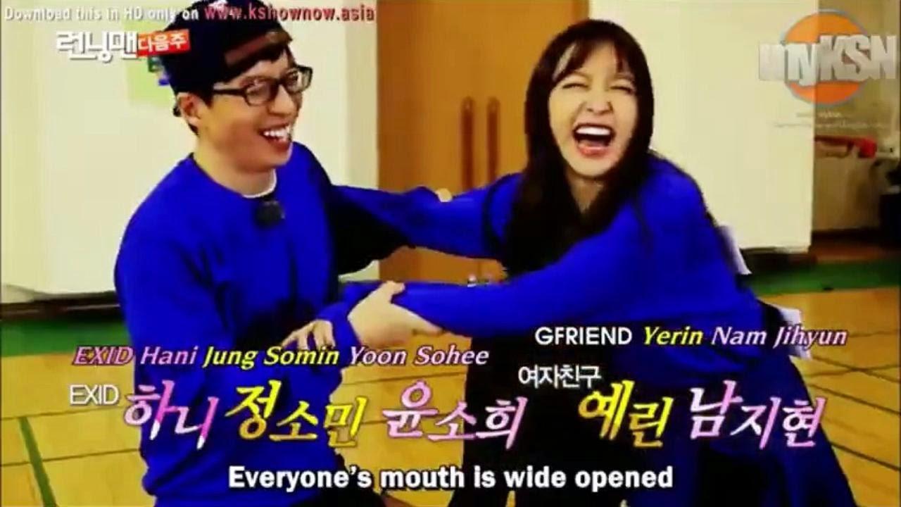 RUNNING MAN EP 237 ENG SUB  Guest : Yerin(G-Friend), Hani (EXID), Jung So Min, Nam Ji Hyun, Yoo So Hee http://kanvaskehidupanku.blogspot.com/