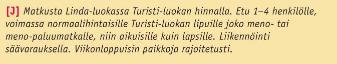 Cityshoppari, Tallinna, Tallinna tutuksi, Linda Line