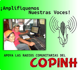 APOYA LAS RADIOS COMUNITARIAS DEL COPINH, ¡AMPLIFIQUEMOS NUESTRAS VOCES!