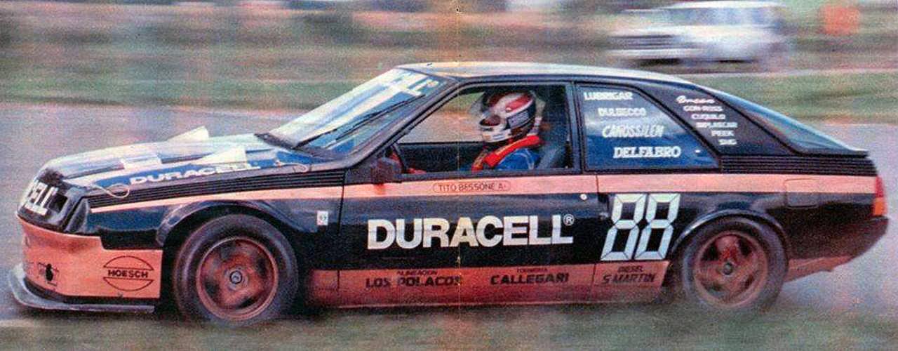 24 de noviembre, 1985 / PRIMER TRIUNFO DE BESSONE, Y DE LA CUPE FUEGO , EN TC2000