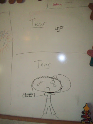 Tear and Tear ...... spelled the same but pronounced differently. Can you figure it out?