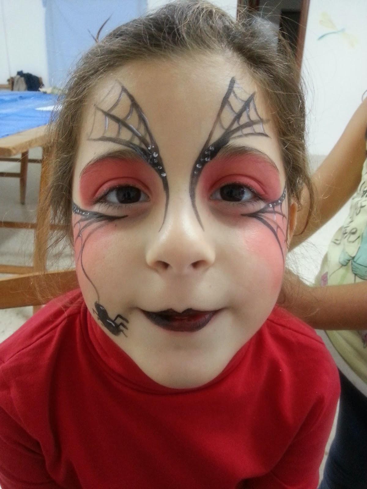 Las Cosas De Paula En Verducido Maquillaje - Maquillaje-bruja-para-nia