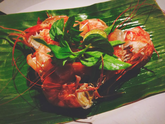 Ikan Bakar Jimbaran- steamed prawn