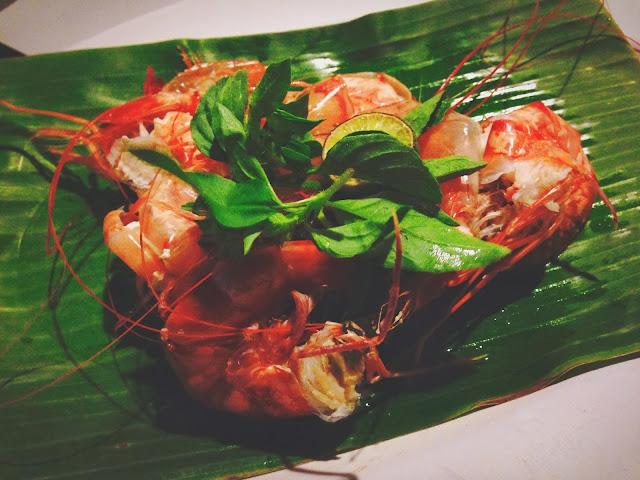 Ikan Bakar Jimbaran- steamed prawn
