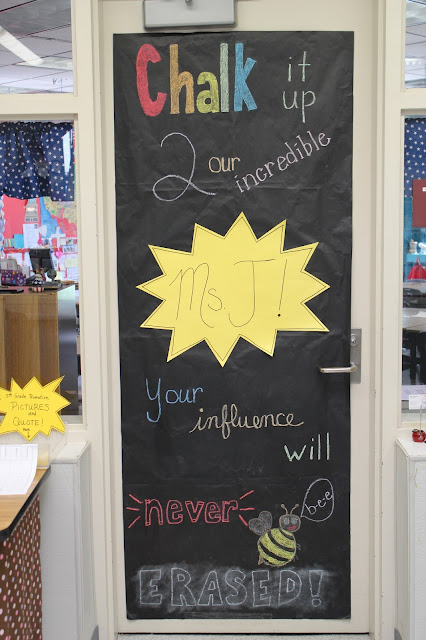 classroom door teacher appreciation week