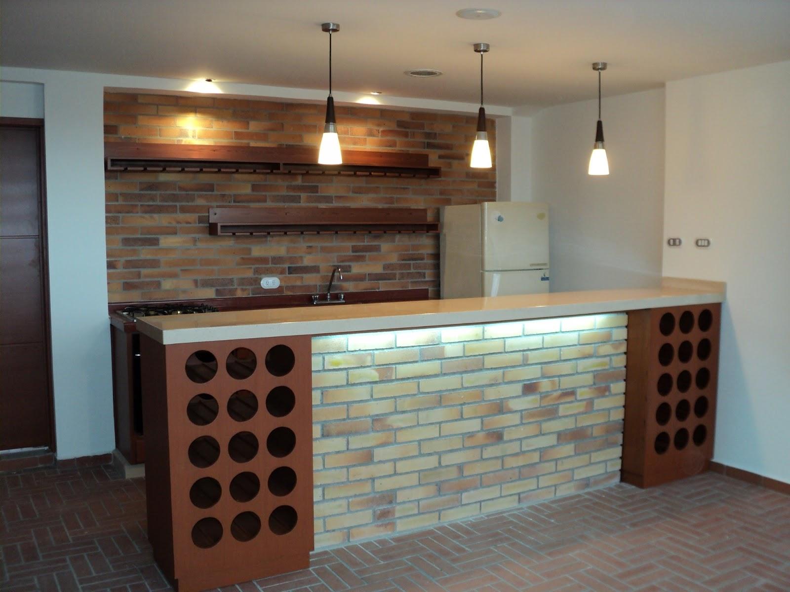 Dise o de interores y mobiliario dise o interiorismo - Barras de bar para casas ...