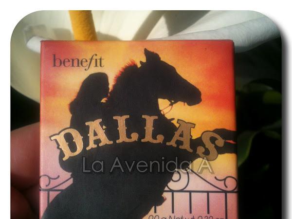 Favorito de Agosto: Rubor Dallas de Benefit