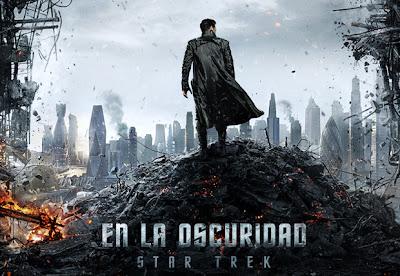 Poster de la película Star Trek en la oscuridad