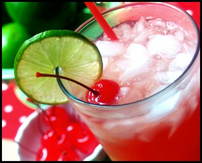Cherry Limeade Recipe (perfect summer beverage)