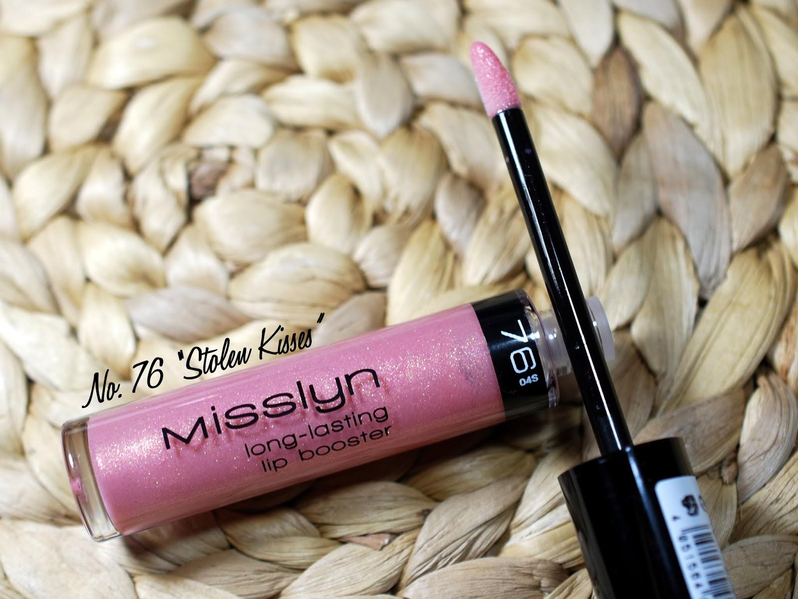 Misslyn Long-Lasting Lip Booster Nr. 76 Stolen Kisses