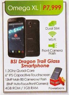 Cherry Mobile Omega XL Specs