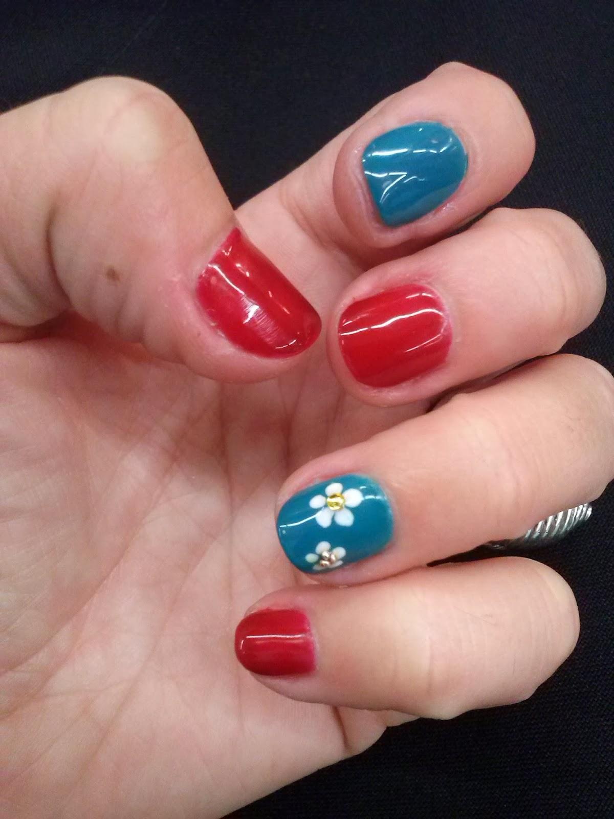 UÑAS CON FLORES | Mira mis uñas