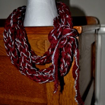 infinity scarf with scarf cuff
