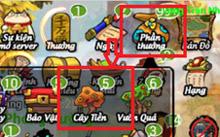 Hướng Dẫn Rung Cây Lấy Tiền trong game Lãng Khách