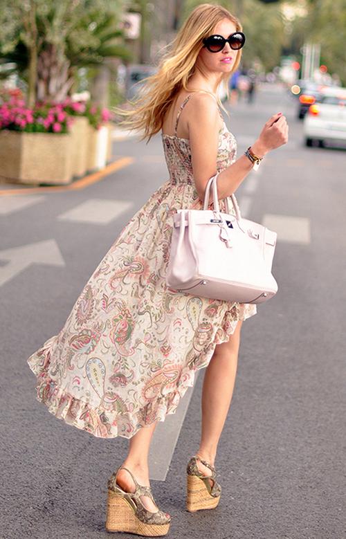 Paisley Mullet Dress