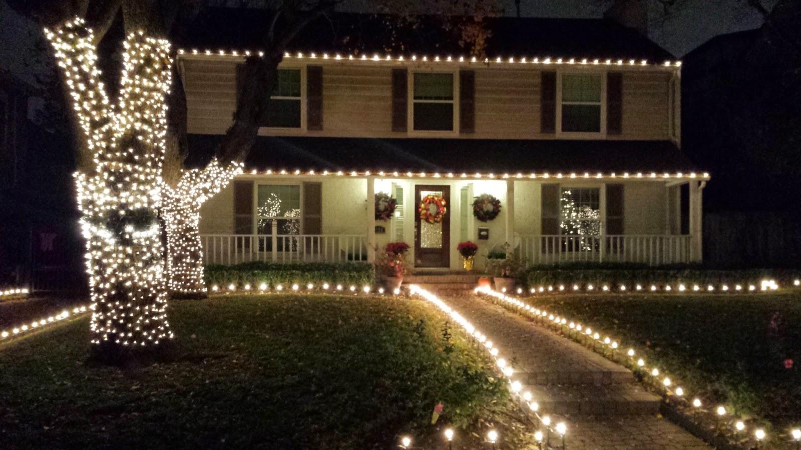 Juancho y estefi dos profes en texas diciembre 2014 - Casas decoradas en navidad ...