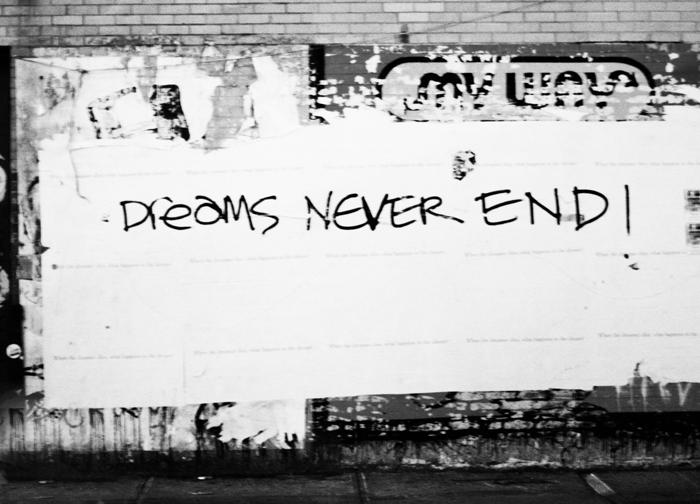 Cabide da Moça: Inspiração: Dreams Never End!