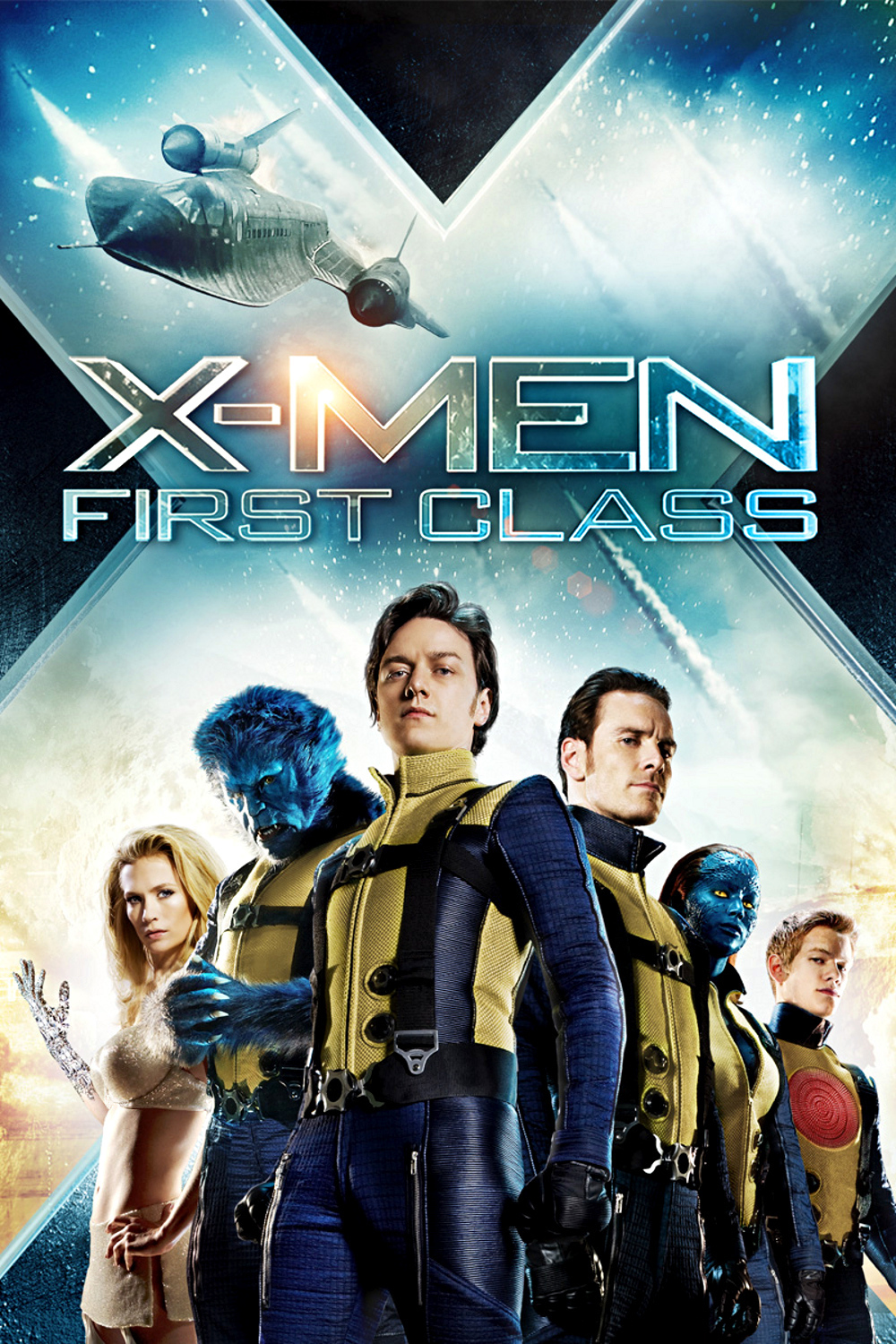 X-Men First Class (2011) Hindi Dual Audio BluRay | 720p | 480p