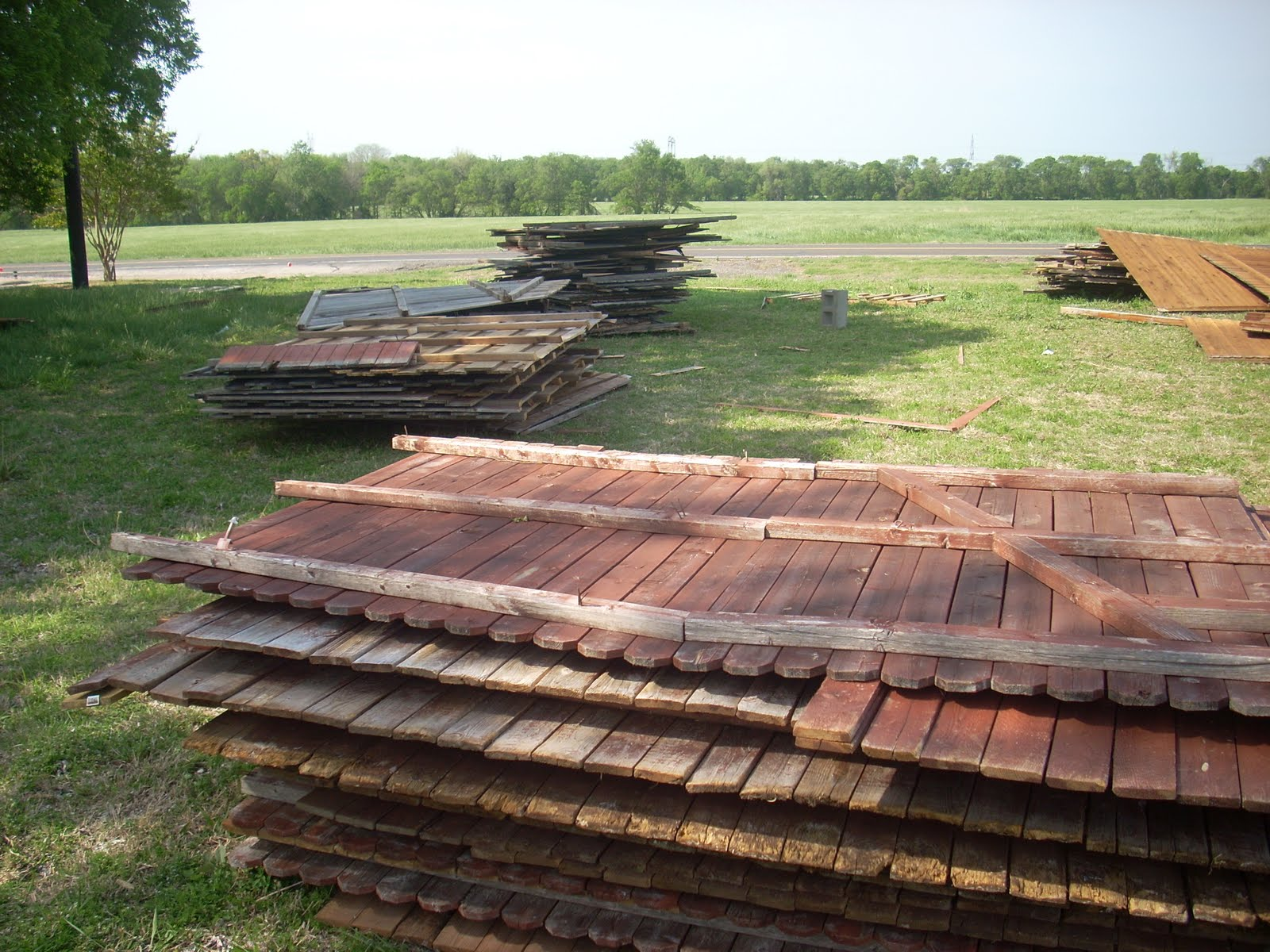 Superb img of  Wylie Texas: GONE 13 Stained Pine Fence Panels 6'tall x 8'wide with #8E5E3D color and 1600x1200 pixels