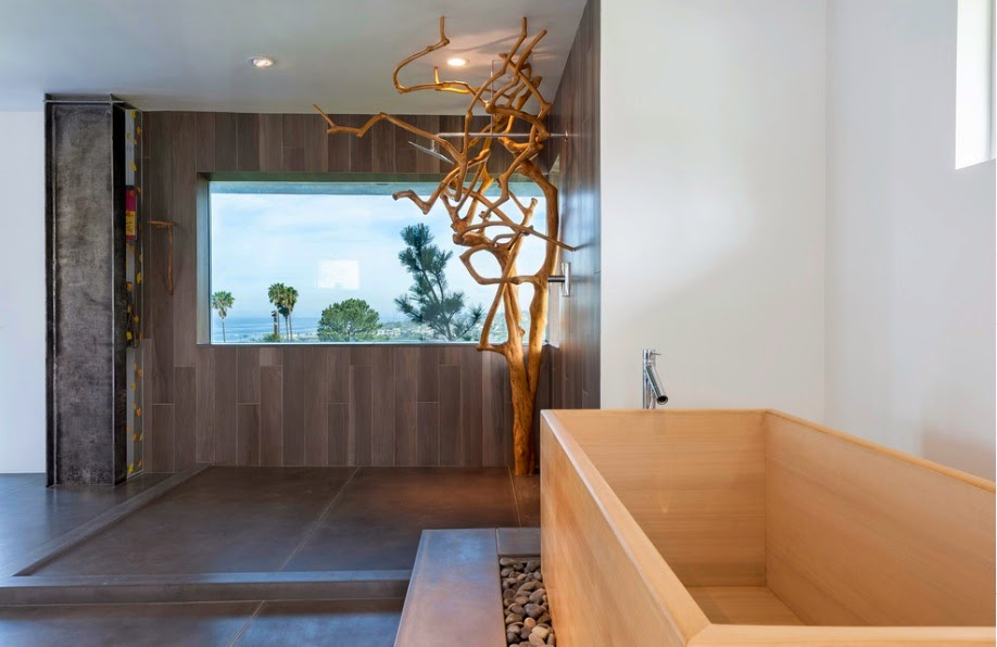 Kamar Mandi Modern Gaya Jepang