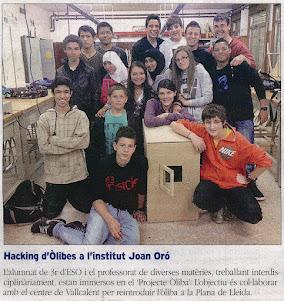 Notícies Projecte Òliba
