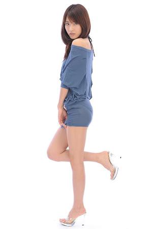 Saki Yamaguchi, Blue Tunic (13)