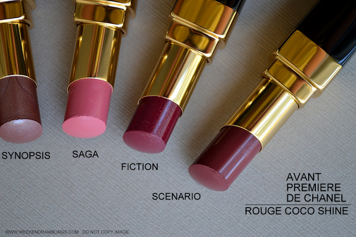 Avant-Premiere de Chanel Makeup Collection Spring Summer 2013 Collection Beauty Blog Photos Swatches Rouge Coco Shine Lipsticks Synopsis Saga Fiction Scenario