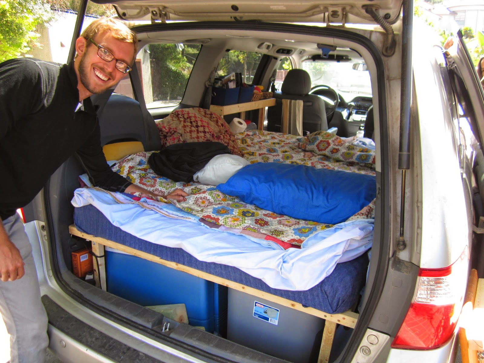 Town And Country Camper >> The Grove Guy: MINIVAN CONVERSION, PART ONE (PART TWO is at the begging of this series of blog)