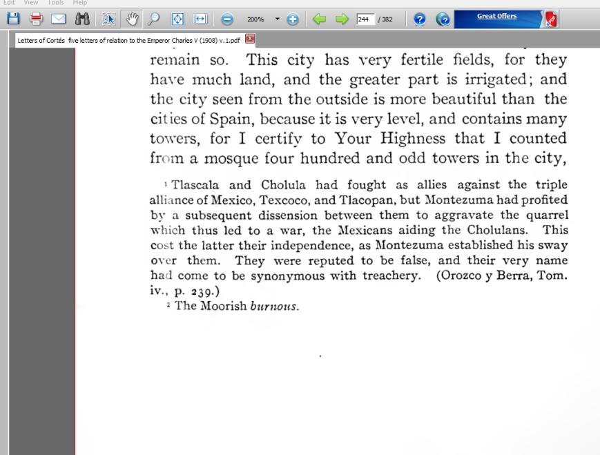 Hernan Cortes First Letter To Charles V