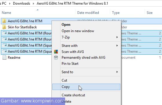 Cara Menginstal Tema Pihak Ketiga Baru di Windows 5