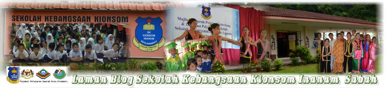 Blog Rasmi Sekolah Kebangsaan Kionsom Inanam