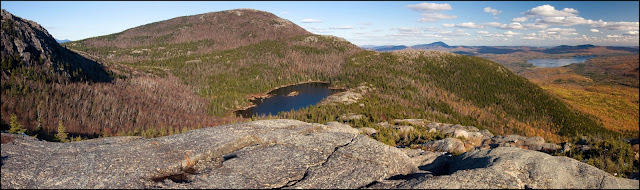 Tumbledown Mountain panorama photo