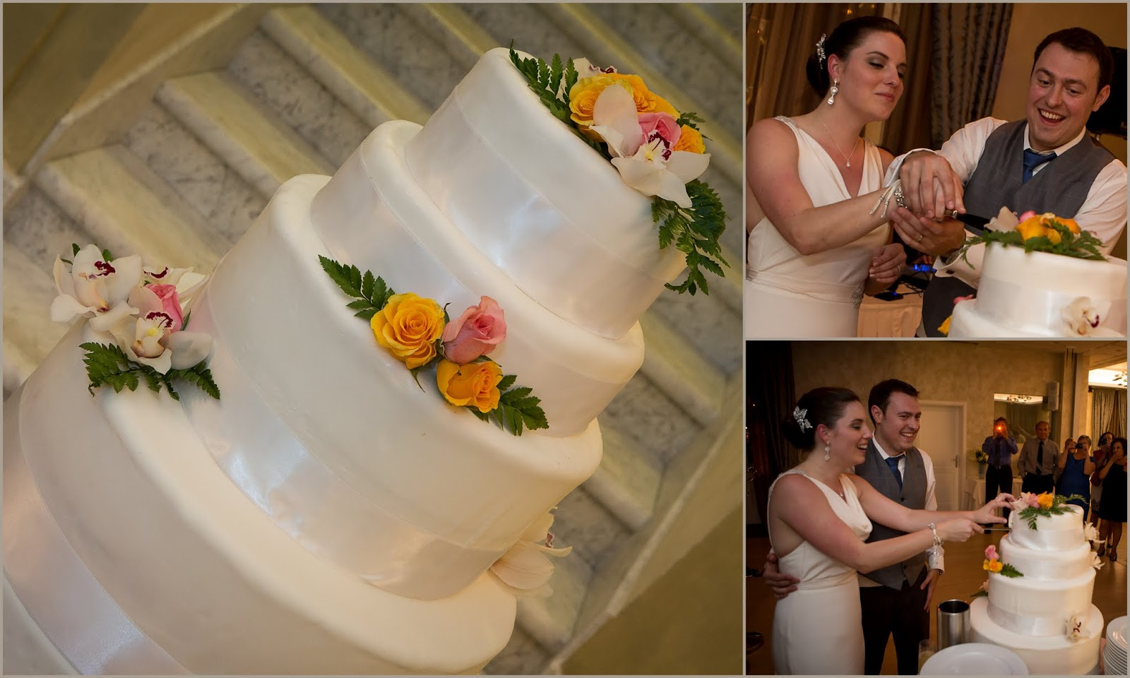 Dubrovnik wedding cake