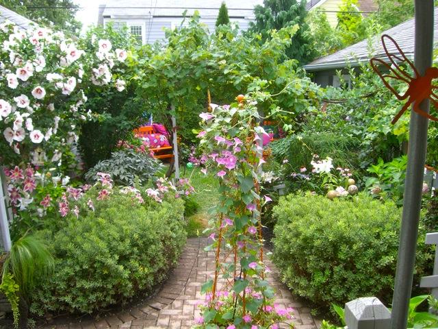 It all began in a garden for Funky garden designs