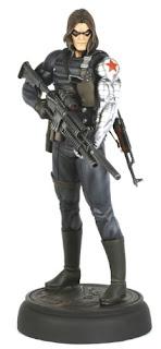 James Buchanan Bucky Barnes Character Review - Statue Product 2