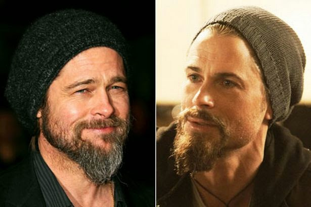 Brad Pitt and Rob