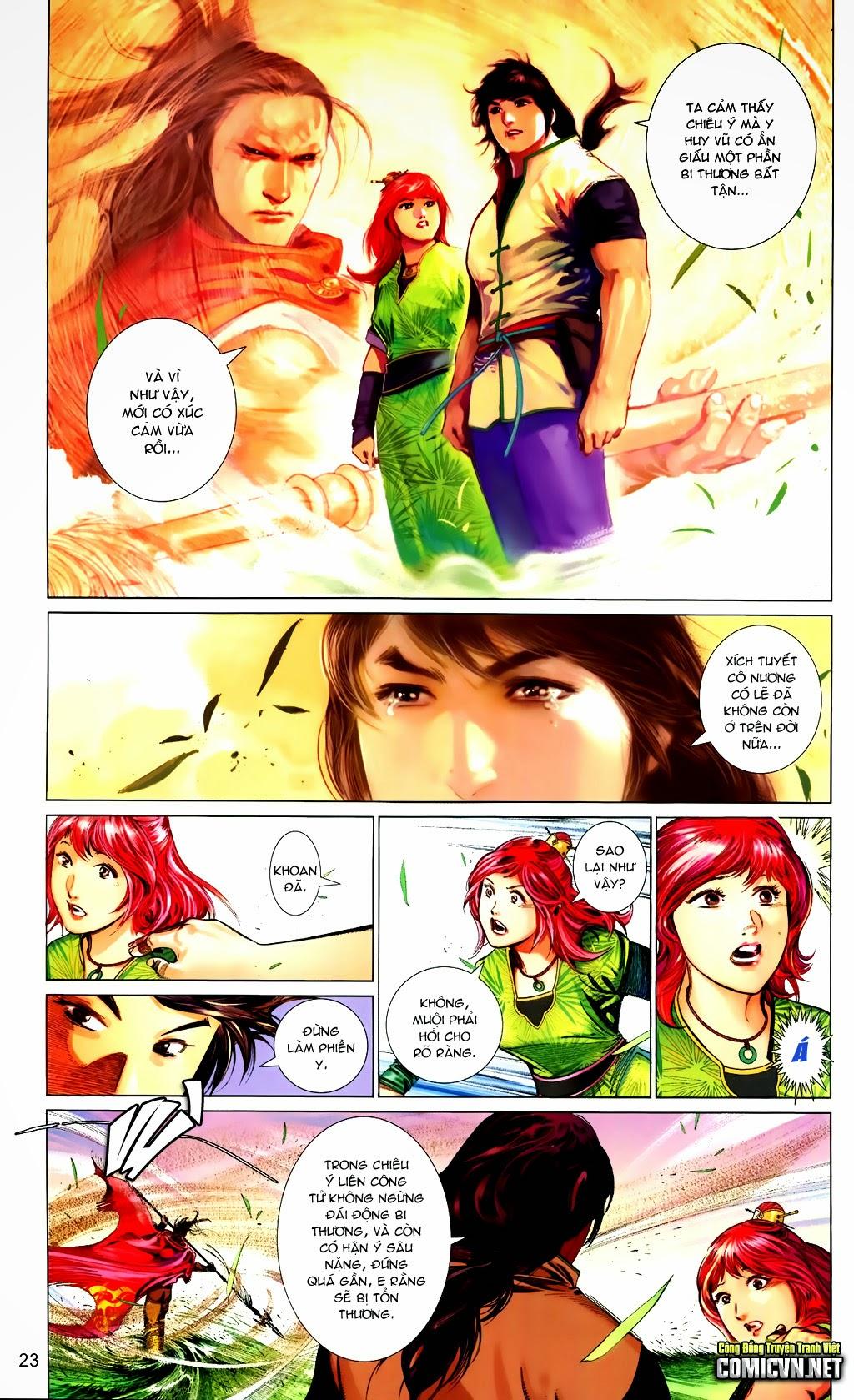 Phong Vân Chap 663 - Trang 23